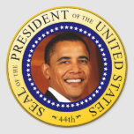 Presidential Seal Round Stickers