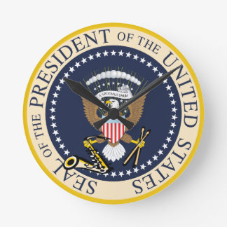 Presidential Seal : Wall Clock