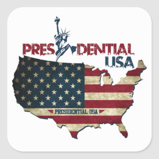 Presidential USA Statue Of Liberty Sticker