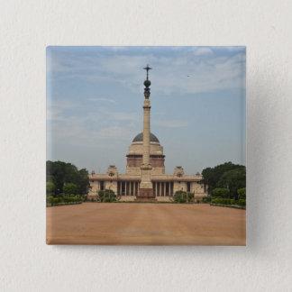 President's House 15 Cm Square Badge