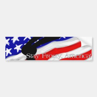 President's Message Bumper Sticker