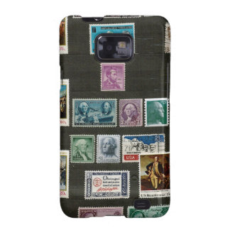 Presidents of USA, on stamps Samsung Galaxy S2 Case