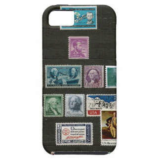 Presidents of USA, on stamps iPhone 5 Cover