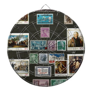 Presidents of USA, on stamps Dart Boards