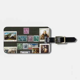 Presidents of USA, on stamps Bag Tags