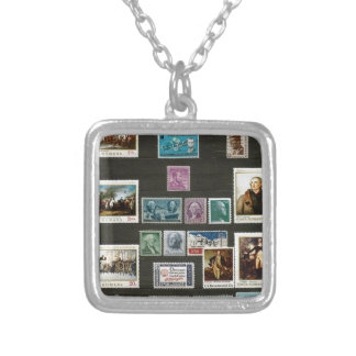 Presidents of USA, on stamps Necklace