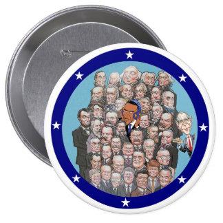 Presidents, Prism & Privacy 10 Cm Round Badge
