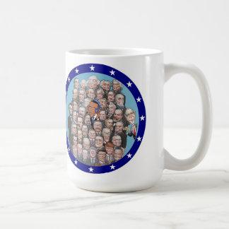 Presidents, Privacy & Prism Basic White Mug