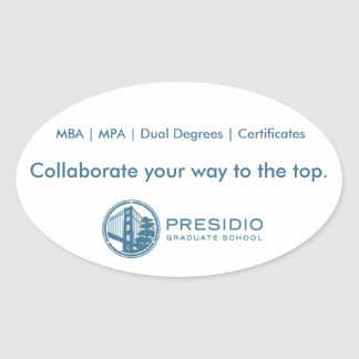 Presidio Graduate School Sticker