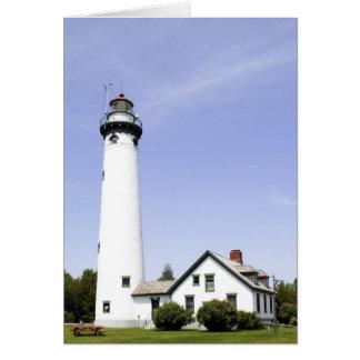 Presque Island Lighthouse Card