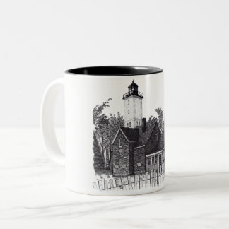 Presque Isle Lighthouse Coffee Mug
