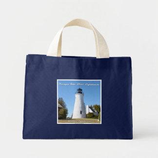 Presque Isle Old Lighthouse: Small Tote Mini Tote Bag