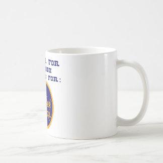 Press 1 For English 2 For Border Patrol Coffee Mug