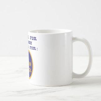Press 1 For English Press 2 For Border Patrol Basic White Mug