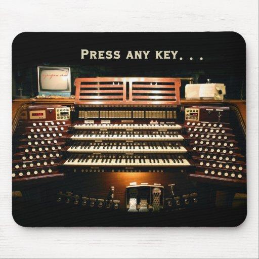 Press any key mousepad