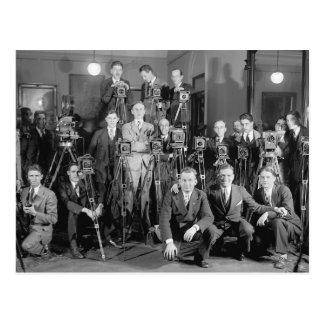 Press Photographers, 1929 Postcard