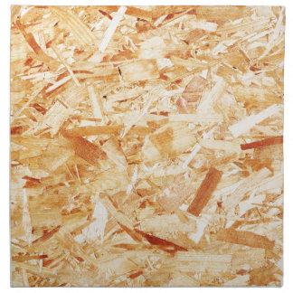 Pressed wood napkin
