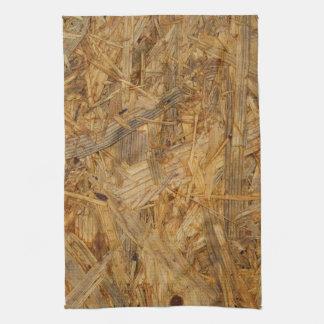 pressed wood residues textures tea towel
