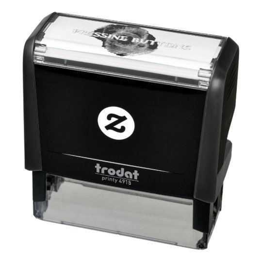 Pressing Buttons Exclusive 2017 Stamper Self-inking Stamp