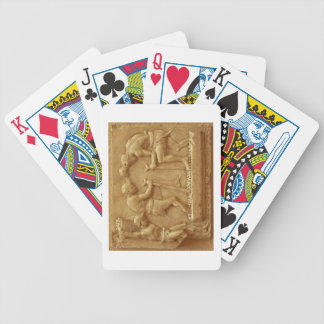 Pressing the Grapes (marble) Bicycle Playing Cards