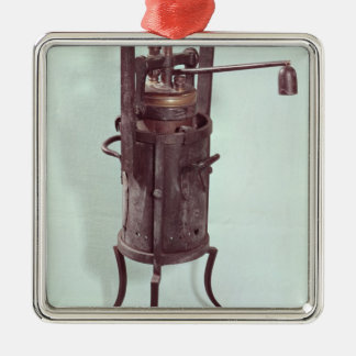 Pressure cooker invented by Denis Papin  1679 Christmas Ornament
