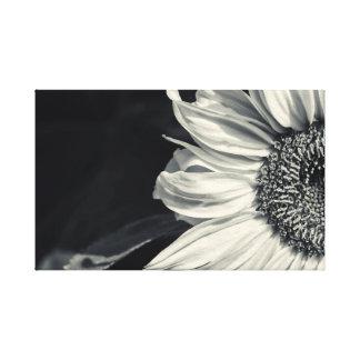 Pressure on wedge canvas - Beautiful Sunflower