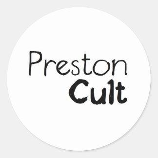 Preston Cult Round Sticker