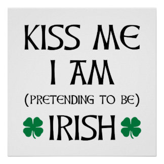 Pretend Irish Poster