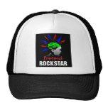 Pretend Rockstar Trucker Cap Mesh Hats