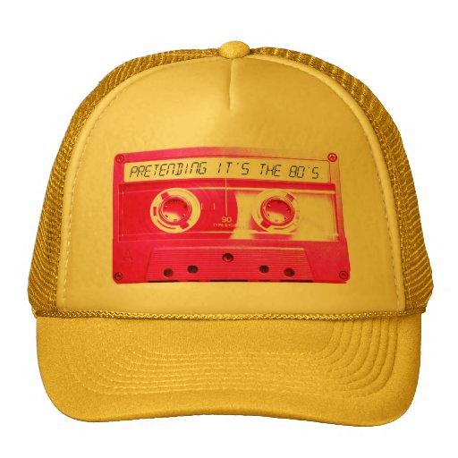Pretending It's The 80's. Hats