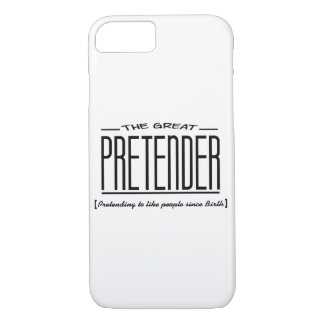 "Pretending to like people"" Print(Apple iPhone 8/7) iPhone 8/7 Case"