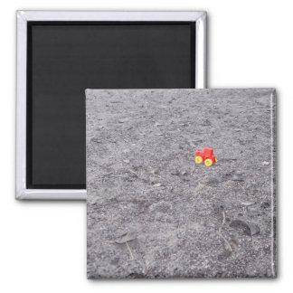 Pretentious Art shot 2 Square Magnet
