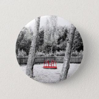 Pretentious Art shot 6 Cm Round Badge
