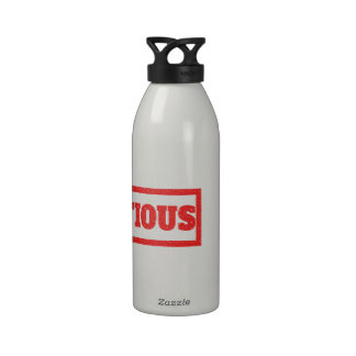 Pretentious Stamp Water Bottles
