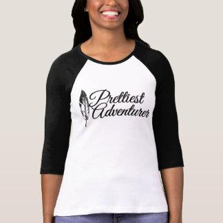 Prettiest Adventurer Raglan T-Shirt