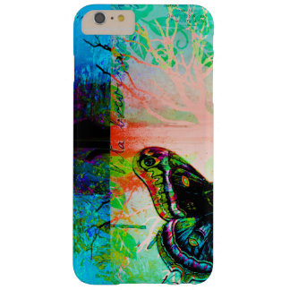 Pretty Abstract Colorful Artistic Butterfly Design Barely There iPhone 6 Plus Case