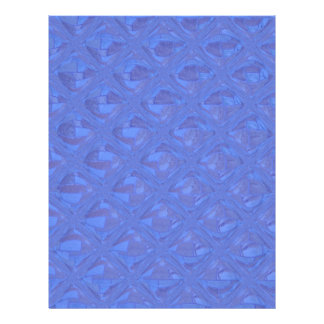 Pretty Abstract Pattern in Blue 21.5 Cm X 28 Cm Flyer
