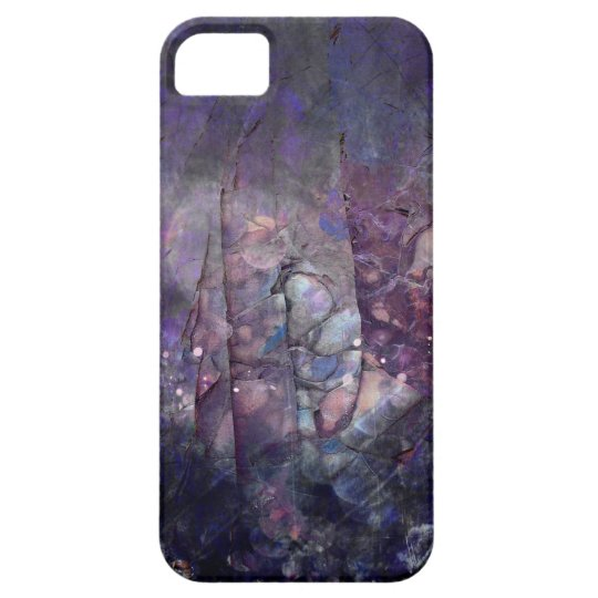 Pretty Abstract Purple Abalone Decay iPhone 5 Cases