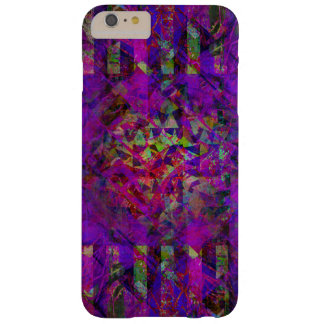 Pretty Abstract Purple Kaleidoscope Pattern Barely There iPhone 6 Plus Case