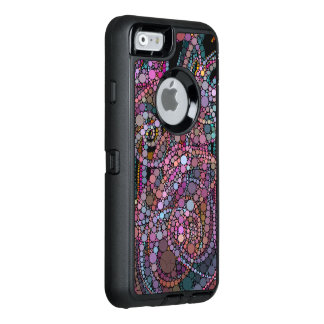 Pretty Abstract Trails OtterBox Defender iPhone Case