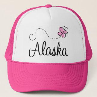 Pretty Alaska Pink and White Hat Gift