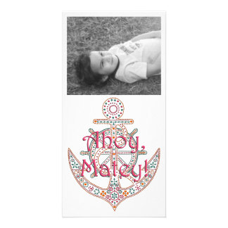 Pretty Anchor Photo Cards