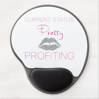 Pretty and profiting Gel Mousepad