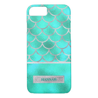 Pretty Aqua Mermaid, Customized iPhone 7 Case