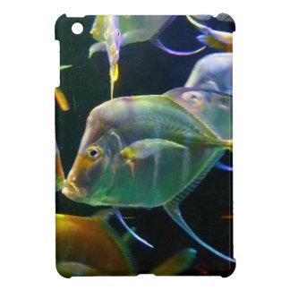 Pretty Aquatic Up Close School Of Fish iPad Mini Cover