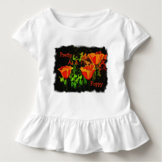 Pretty As A Poppy Toddler T-Shirt