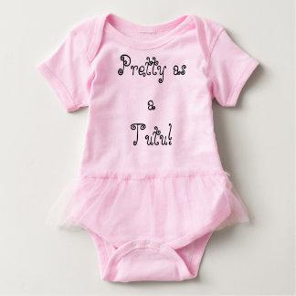 Pretty as a Tutu! Baby Bodysuit