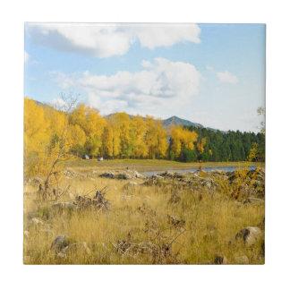 Pretty Autumn Landscape Tile