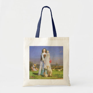 Pretty Baa Lambs by Ford Madox Brown Tote Bag