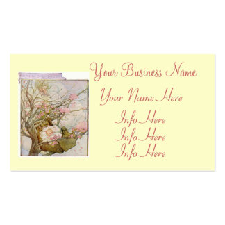 Pretty Baby Girl Pack Of Standard Business Cards